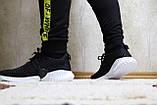 Кроссовки мужские сетка черные. Кросівки чоловічі чорні сітка., фото 6