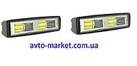 Комплект светодиодных фар WLM 2X18W  (возможность установки как ДХО или противотуманных фар)