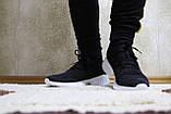 Кросівки чоловічі сітка чорні. Кросівки чоловічі чорні сітка., фото 8