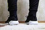 Кросівки чоловічі сітка чорні. Кросівки чоловічі чорні сітка., фото 9