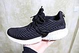 Кроссовки мужские сетка черные. Кросівки чоловічі чорні сітка., фото 10