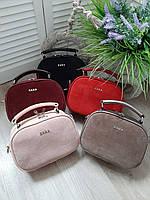 Женская сумочка клатч замша натуральная и эко кожа ZARA сумка в расцветках.