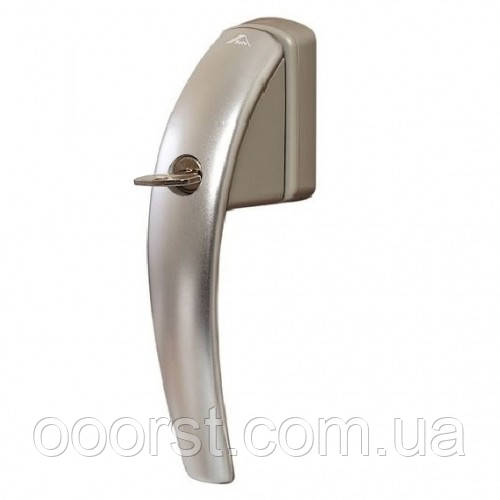 Ручка оконная Roto Swing Secustik с ключом серебро R01.1