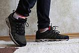 Мужские кроссовки зеленые сетка. Чоловічі кросівки сітка зелені. BAAS., фото 6