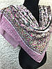 Женский хлопковый розовый платок большого размера (цв.3)