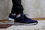 Мужские синие кроссовки сетка. Чоловічі сині кросівки сітка., фото 2