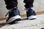 Мужские синие кроссовки сетка. Чоловічі сині кросівки сітка., фото 5
