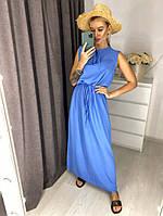 Летнее платье / штапель полированный 44-0159, фото 1