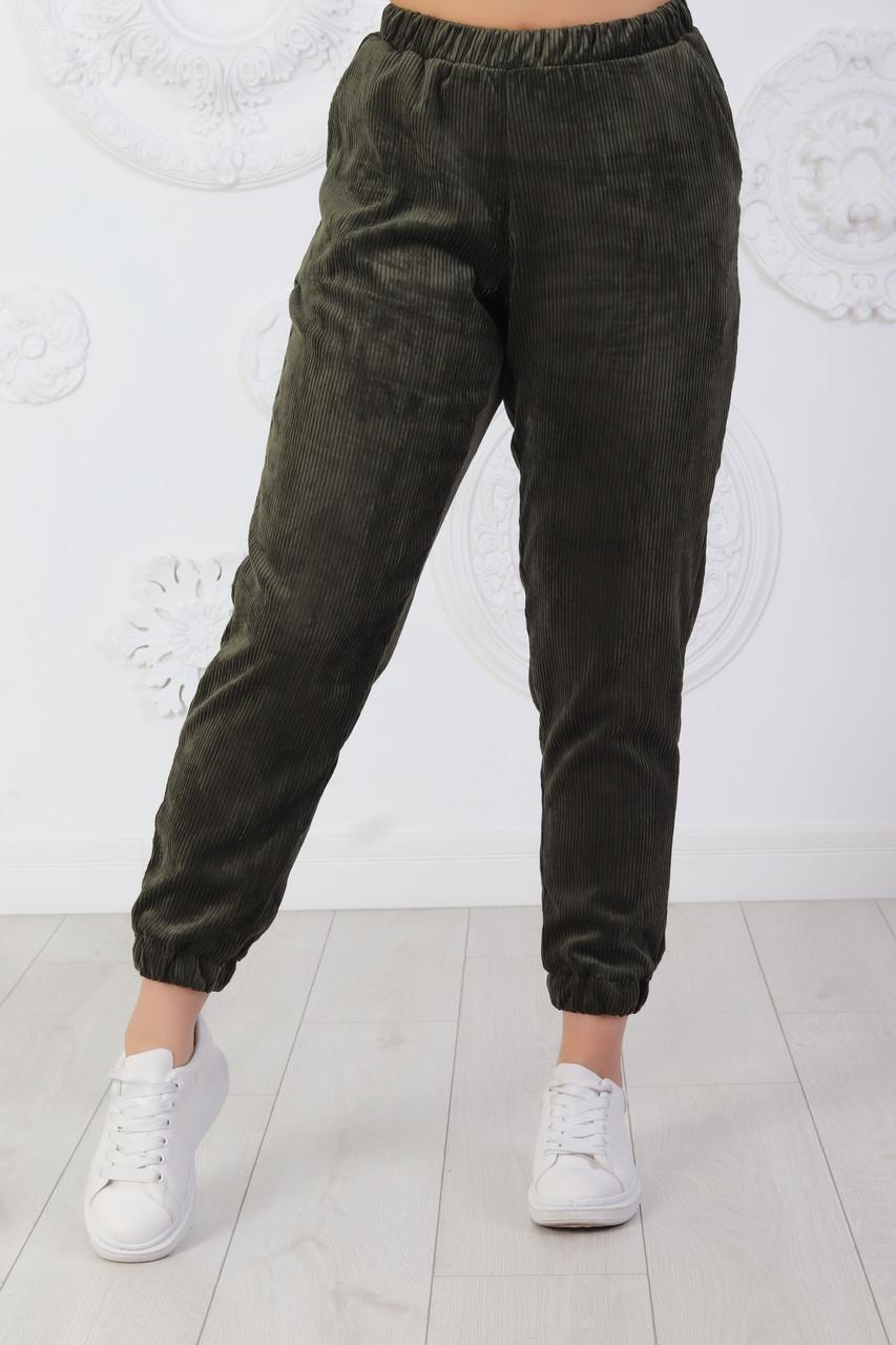 Женские Вельветовые брюки 0270