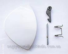 Ручка люка стиральной машины Ariston, Indesit W93/84 (капля) - 075323, 139ID13 (C) код товара: 7437