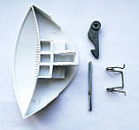 Ручка люка стиральной машины Ariston, Indesit W93/84 (капля) - 075323, 139ID13 (C) код товара: 7437, фото 2