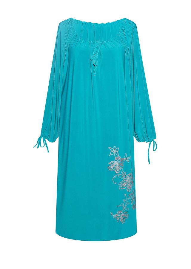 Прямое платье Ветка