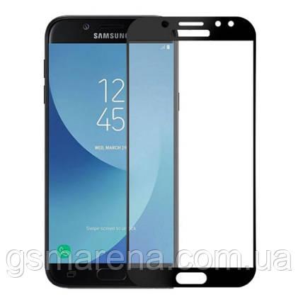 Защитное стекло 3D для Samsung Galaxy J6 (2018) (J600) 3D Черный, фото 2