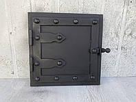 Дверка для духовки металлическая 300х300мм