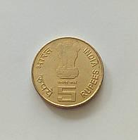 5 рупий Индия 2009 г., фото 1