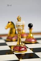 Шахматы из родонита.Ручная работа. VIP подарок, фото 1