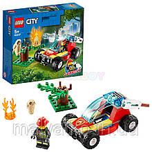 Лего Lego City Лісові пожежні 60247