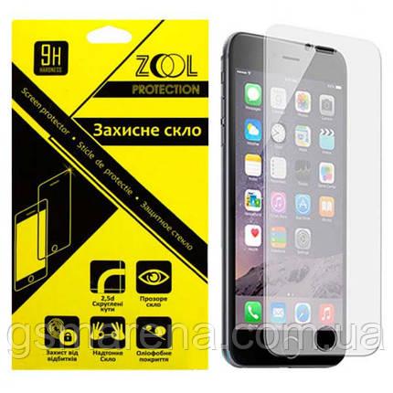 Защитное стекло 2.5D для LG K580 X-cam 0.3mm Zool, фото 2