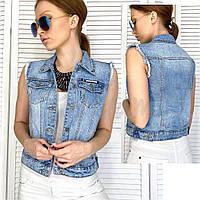 Жилетка джинсовая New jeans 0822