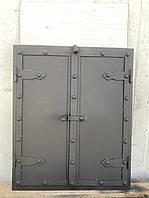 Дверца под коптилку арка метал 600х400мм
