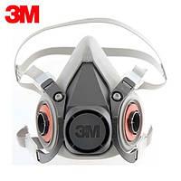 Полумаска респиратор 3М 6200,маска серии 3М 6000