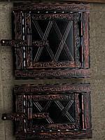 Дверца печная металлическая раздельние 400x200, фото 1