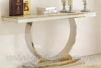 Консоль мраморная X-8130 золото 120 см Decor Furniture