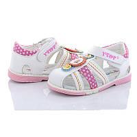 Сандали для девочки. Босоножки для девочки Сандалии детские ортопедические Обувь детская, 24 размер (белые)