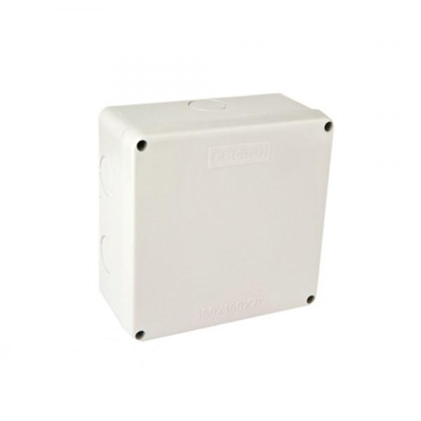 Коробка 160*160*75 розподільча зовнішня IP65 GET-SAN
