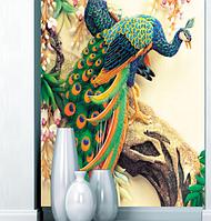 Фотообои 3Д керамические павлины разные текстуры , индивидуальный размер