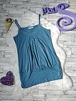 Туника майка bpc bonprix collection женская голубая