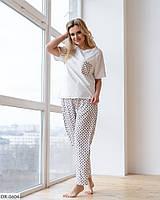 Пижама женская батал  Зоя, фото 1
