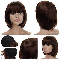 Натуральный парик Katie HH шоколадного цвета