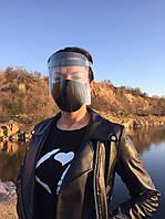 Защитная барьерная маска для индивидуальной защиты Прозрачная (кск)