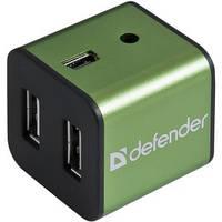 USB-хаб Defender Quadro Iron 4xUSB 2.0 (83506)