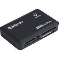 USB-хаб Defender Card Reader Optimus USB 2.0 Black (83501)