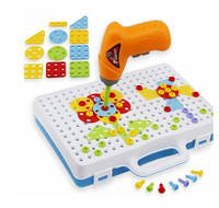 Мозаика конструктор с шуруповертом Creative Puzzle