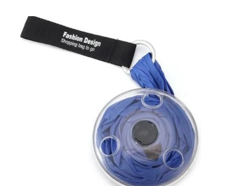 Складная компактная сумка-шоппер Синий  Sshopping bag to roll up