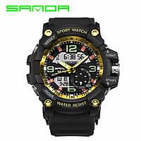 Часы Sanda 759 Black-Gold