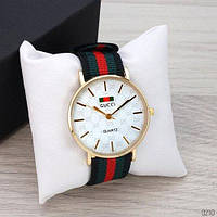 Часы Gucci Gold-White Green-Red