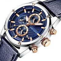 Часы Mini Focus MF0161G.01 Blue-Silver-Gold