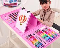 """Набор для детского творчества в чемодане """"Чемодан Творчества"""" из 208 предметов"""