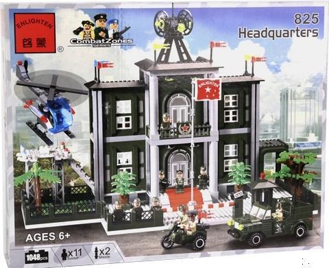 """Детский конструктор Brick 825 """"Полицейский участок"""""""