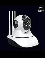 Беспроводная IP Камера Wifi 1080p видеонаблюдение за детьми айпи камера с 3 антеннами