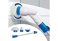 Электрическая щетка Spin Scrubber с насадками для влажной уборки