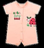 Детский полукомбинезон для девочки PS-20-12 *Обаяшка*, фото 2