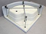 Гідромасажний бокс StarWhite 8303W (90x90), глибокий піддон, без електрики, самозбірний профіль, фото 10