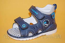 Детские Босоножки Kimboo Китай 7301 Для мальчиков Синий размеры 20_25