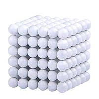 Неокуб NeoCube Белый [5мм * 216 шариков] + Металлическая Коробка в Подарок