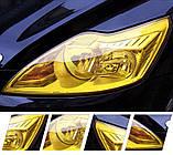 Авто пленка защитная Annhao глянцевая желтая 30х100см тонировочная бронепленка (Avp-010-100), фото 7